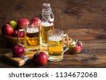 hard apple cider | Shutterstock . vector #1134672068