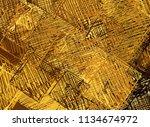 contemporary art. hand made art.... | Shutterstock . vector #1134674972