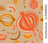 vector seamless pattern with... | Shutterstock .eps vector #113468062
