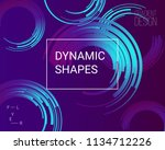 abstract geometric background....   Shutterstock .eps vector #1134712226