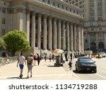 new york  usa   may 24  2018 ... | Shutterstock . vector #1134719288