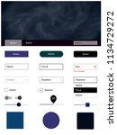 dark blue  yellow vector design ...
