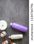 bottles with natural spa... | Shutterstock . vector #1134760796