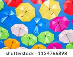 beautiful display of colorful... | Shutterstock . vector #1134766898