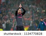 madrid   may 3  ramsey plays at ...   Shutterstock . vector #1134770828