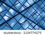 dropped   suspension ceiling.... | Shutterstock . vector #1134774275