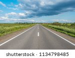 view of the new highway to the... | Shutterstock . vector #1134798485
