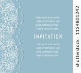 invitation or card templates...   Shutterstock .eps vector #1134801242