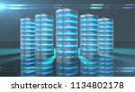 lithium battery fast recharge... | Shutterstock . vector #1134802178
