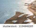 aerial view of beach and sea... | Shutterstock . vector #1134848285