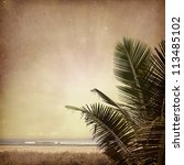 vintage nature background | Shutterstock . vector #113485102