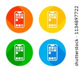 simple mobile phone icon....