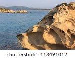 Rocky beach - stock photo