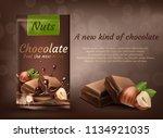 vector promotion banner ... | Shutterstock .eps vector #1134921035