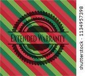 extended warranty christmas... | Shutterstock .eps vector #1134957398
