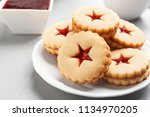 Traditional Christmas Linzer...