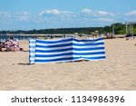sopot  poland   june 6  2018 ... | Shutterstock . vector #1134986396