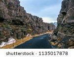 pingvellir  thingvellir ... | Shutterstock . vector #1135017878