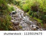 saria tal waterfalls  nainital  ... | Shutterstock . vector #1135019675