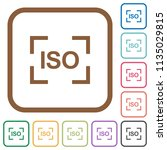 camera iso speed setting simple ...   Shutterstock .eps vector #1135029815