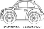 variety of car vector | Shutterstock .eps vector #1135053422