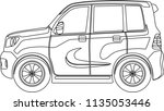 variety of car vector | Shutterstock .eps vector #1135053446