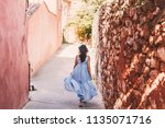 france  provence medieval town... | Shutterstock . vector #1135071716