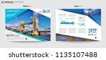 brochure template  flyer design ...   Shutterstock . vector #1135107488