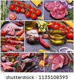 food for every taste | Shutterstock . vector #1135108595
