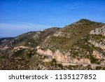 france  mountains of alpes... | Shutterstock . vector #1135127852