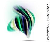 fluid liquid mixing colors... | Shutterstock .eps vector #1135148555