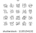 bar well crafted pixel perfect...   Shutterstock .eps vector #1135154132