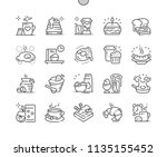 breakfast well crafted pixel... | Shutterstock .eps vector #1135155452