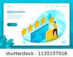 vector concept illustration   ... | Shutterstock .eps vector #1135157018