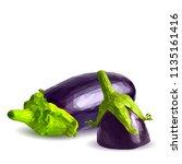 fresh  nutritious  tasty... | Shutterstock .eps vector #1135161416