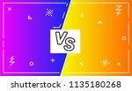 background versus screen battle ... | Shutterstock .eps vector #1135180268