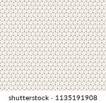 clean minimal geometric retro... | Shutterstock .eps vector #1135191908