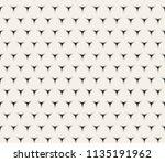 clean minimal geometric retro... | Shutterstock .eps vector #1135191962