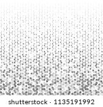 abstract geometric graphic... | Shutterstock .eps vector #1135191992