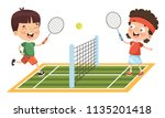 vector illustration of kid... | Shutterstock .eps vector #1135201418
