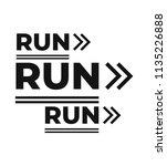 textile graphic t shirt print.... | Shutterstock .eps vector #1135226888