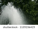 large top of fountain jet... | Shutterstock . vector #1135236425
