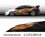 car decal graphic vector  truck ... | Shutterstock .eps vector #1135238018