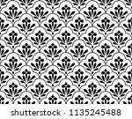 flower geometric pattern.... | Shutterstock .eps vector #1135245488