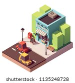 vector isometric souvenir gift...   Shutterstock .eps vector #1135248728