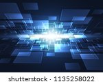 abstract digital background... | Shutterstock .eps vector #1135258022