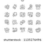 marketing well crafted pixel...   Shutterstock .eps vector #1135276496