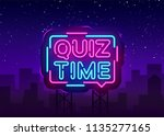 Quiz Time Announcement Poster...