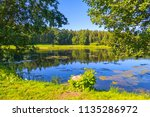 A Lake Among The Green Forest...
