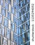 abstract modern building | Shutterstock . vector #1135294052